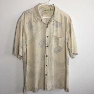 Joseph and Feiss Silk Button Down Shirt